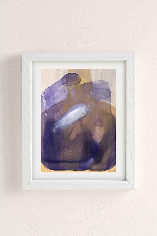 Nell Bernegger Moving Past The Feeling Art Print,WHITE WOOD FRAME,18X24