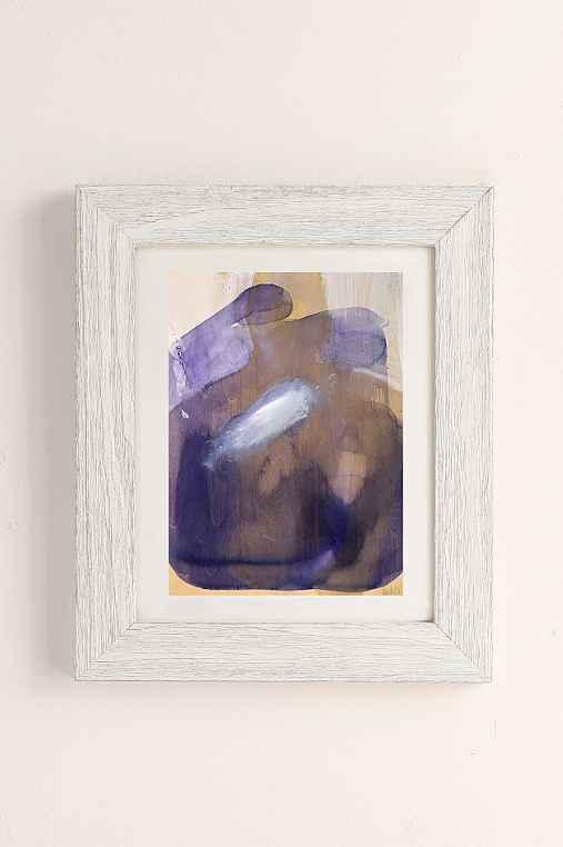Nell Bernegger Moving Past The Feeling Art Print,WHITE BARNWOOD FRAME,13X19