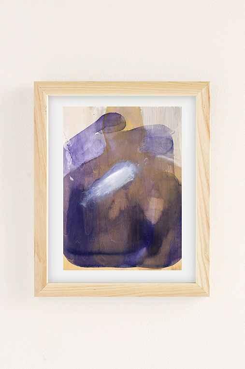 Nell Bernegger Moving Past The Feeling Art Print,NATURAL WOOD FRAME,8X10