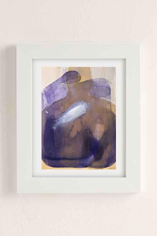 Nell Bernegger Moving Past The Feeling Art Print,WHITE MATTE FRAME,8X10