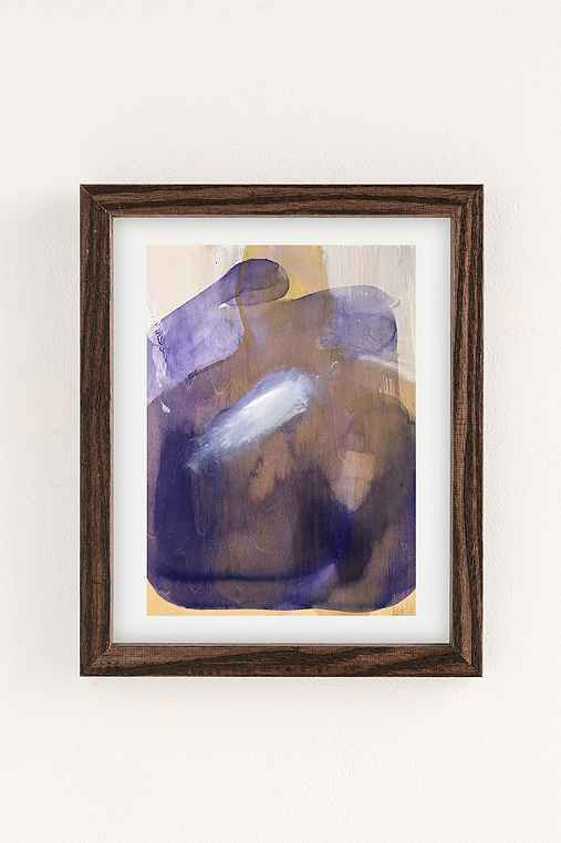 Nell Bernegger Moving Past The Feeling Art Print,WALNUT WOOD FRAME,8X10