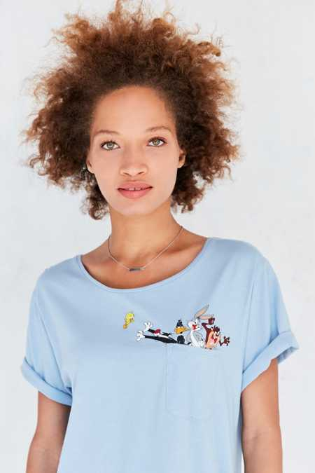 Junk Food Looney Tunes Pocket Tee
