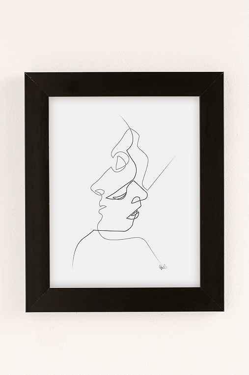 Quibe Close Art Print,BLACK MATTE FRAME,8X10