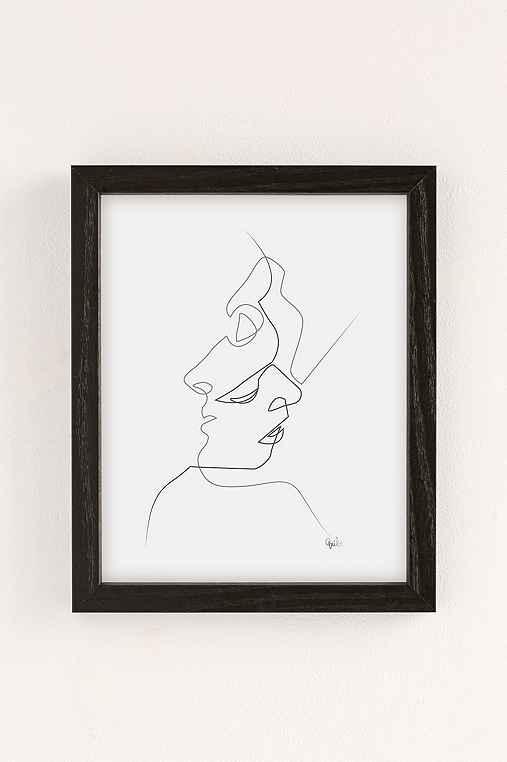 Quibe Close Art Print,BLACK WOOD FRAME,8X10