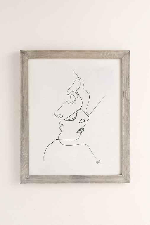 Quibe Close Art Print,GREY BARNWOOD FRAME,40X60