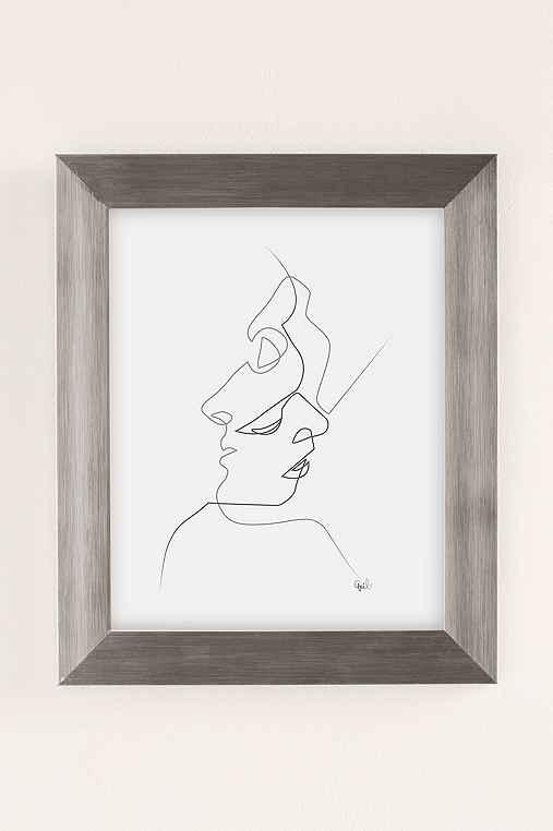 Quibe Close Art Print,SILVER MATTE FRAME,30X40