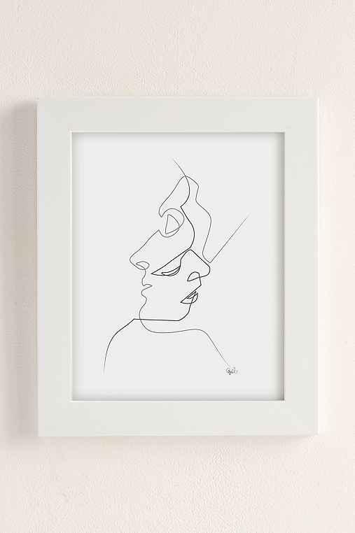 Quibe Close Art Print,WHITE MATTE FRAME,30X40