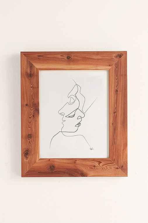 Quibe Close Art Print,CEDAR FRAME,18X24