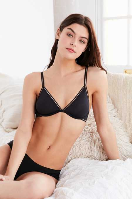 REAL Plunging Underwire Bra