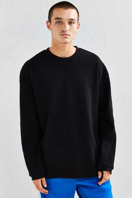 The Narrows Drop Shoulder Thermal Long Sleeve Tee