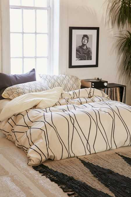 Heather Dutton For DENY Fuge Stone Duvet Cover