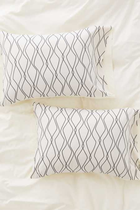 Heather Dutton For DENY Fuge Stone Pillowcase Set