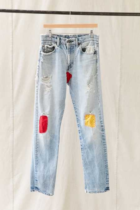 Vintage Levi's Printed Patch Jean