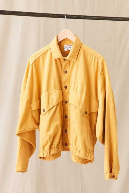 Vintage Light Mustard Yellow Jacket