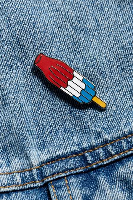 Valley Cruise Press Ice Pop Pin