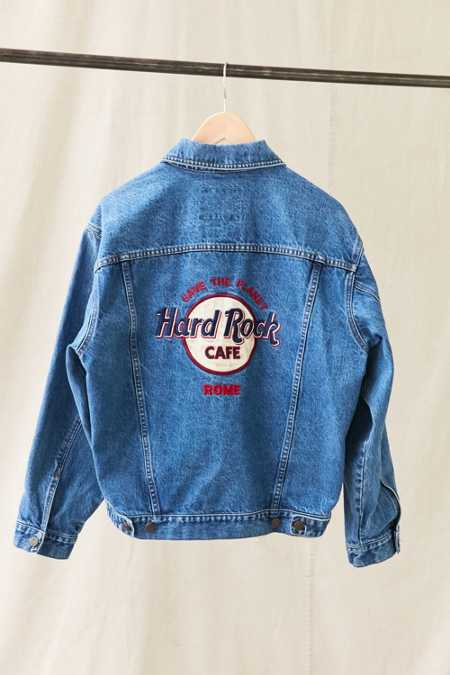Vintage Hard Rock Rome Denim Jacket