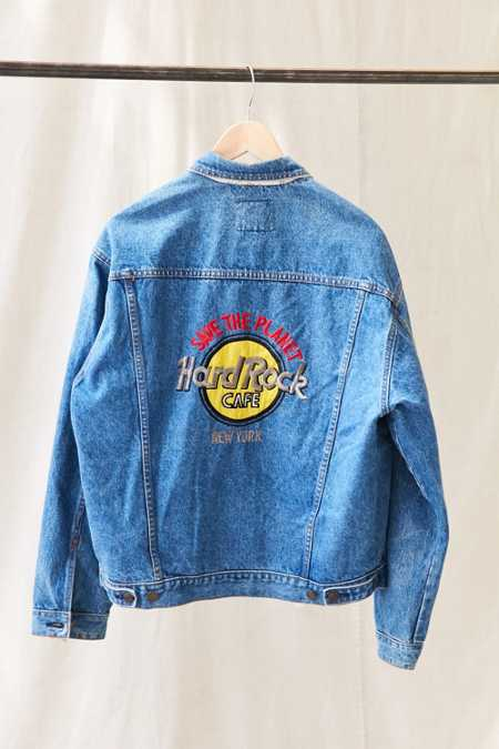 Vintage Hard Rock New York Denim Jacket