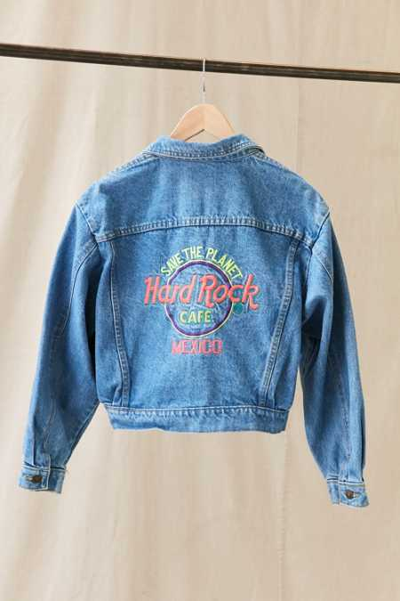 Vintage Hard Rock Mexico Denim Jacket