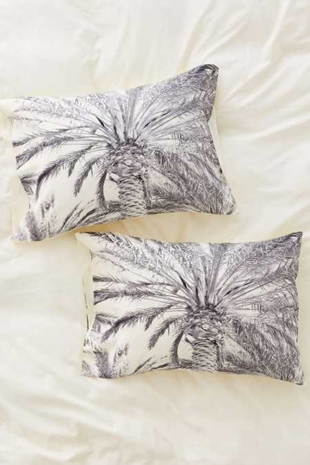 Lisa Argyropoulos For DENY San Diego Palms Pillowcase Set