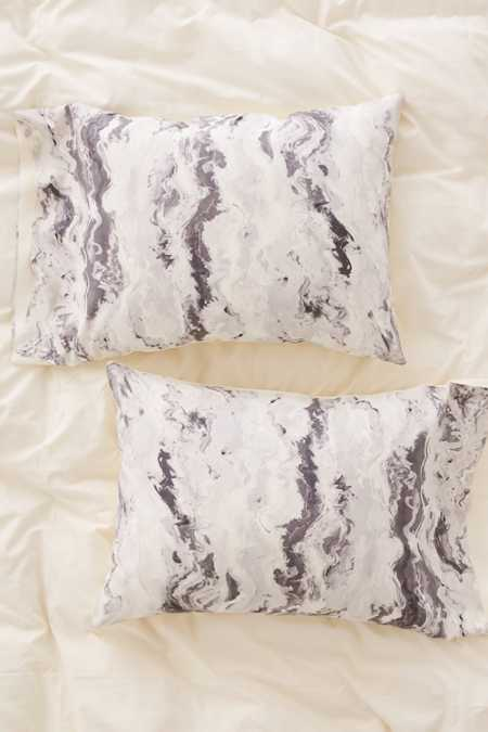 Lisa Argyropoulos For DENY Mono Melt Pillowcase Set