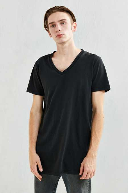 Rolla's Long Line V-Neck Tee