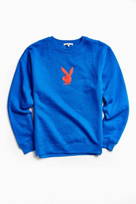 Junk Food Playboy Fleece Crew Neck Sweatshirt