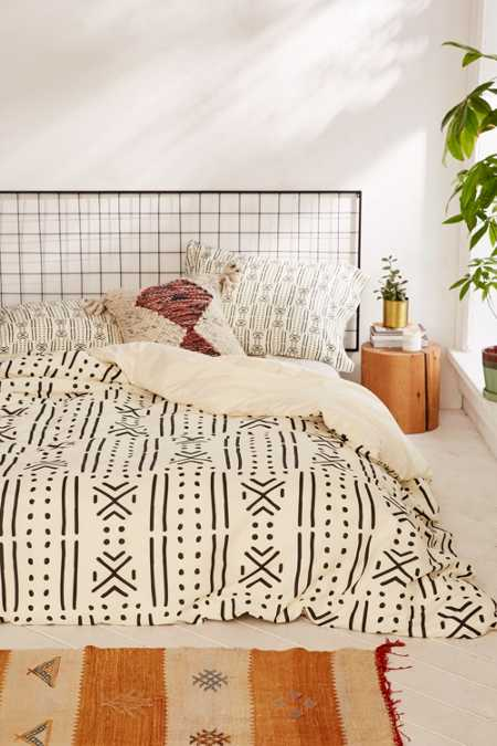 Holli Zollinger For DENY Geo Stripe Duvet Cover