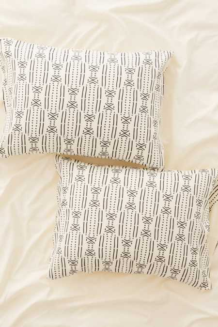 Holli Zollinger For DENY Geo Stripe Pillowcase Set