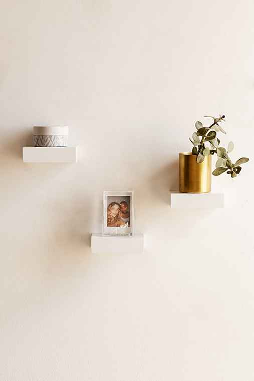 Umbra Showcase Shelf Set,WHITE,ONE SIZE