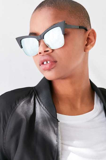 Quay X Desi Perkins TYSM Cat-Eye Sunglasses