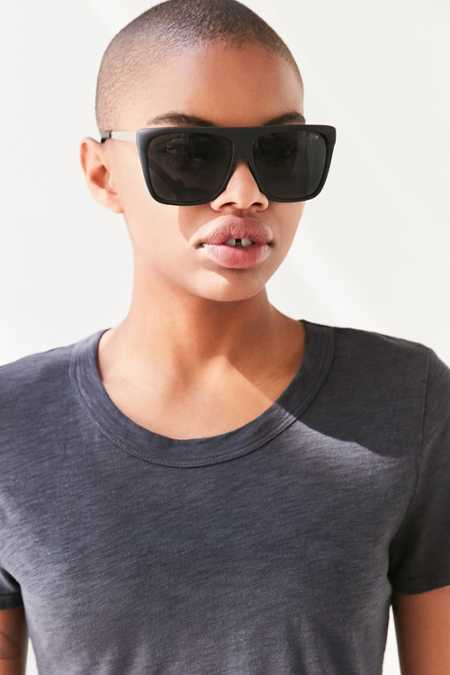 Quay X Desi Perkins On The Low Square Sunglasses