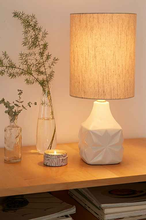 Mandy Table Lamp,WHITE,ONE SIZE