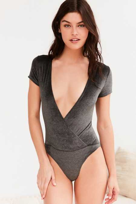 Out From Under Vickie Velvet Bodysuit