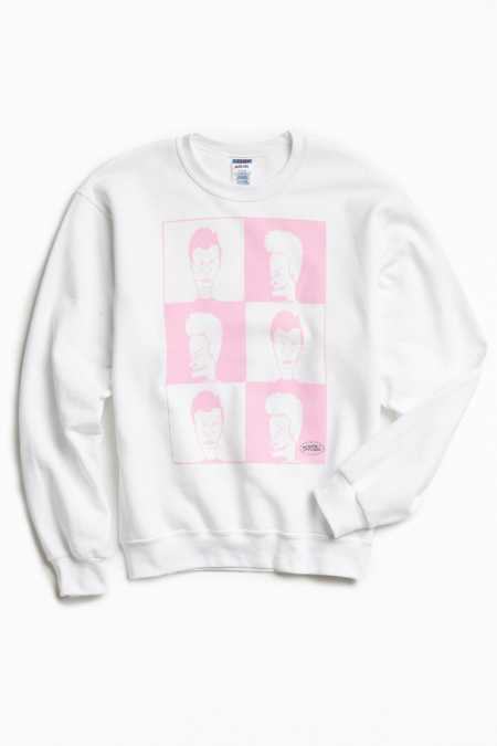Beavis And Butt-Head Crew Neck Sweatshirt