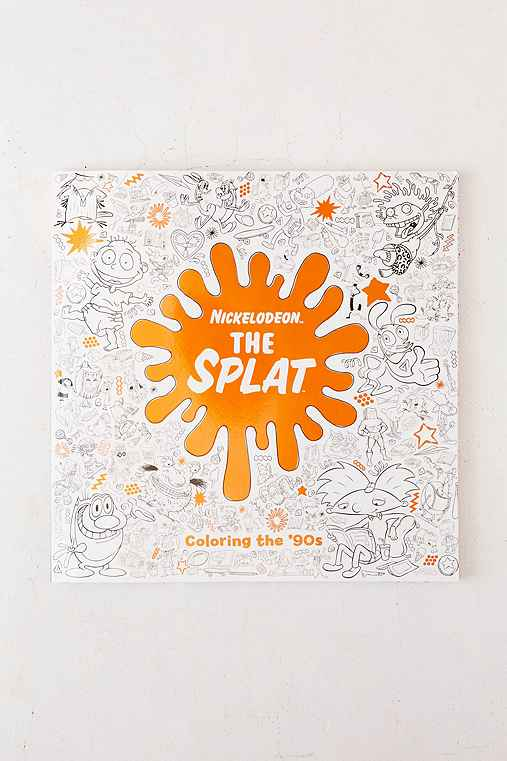The Splat: Coloring The '90s Nickelodeon By Random House,ASSORTED,ONE SIZE