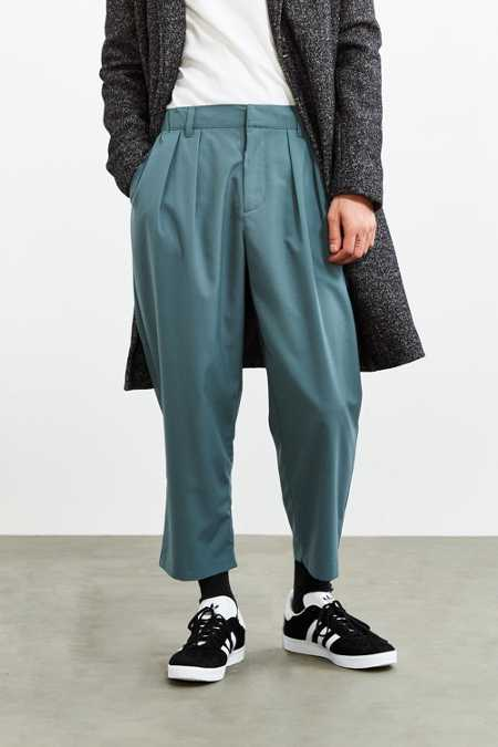 UO Relaxed Cropped Dress Pant