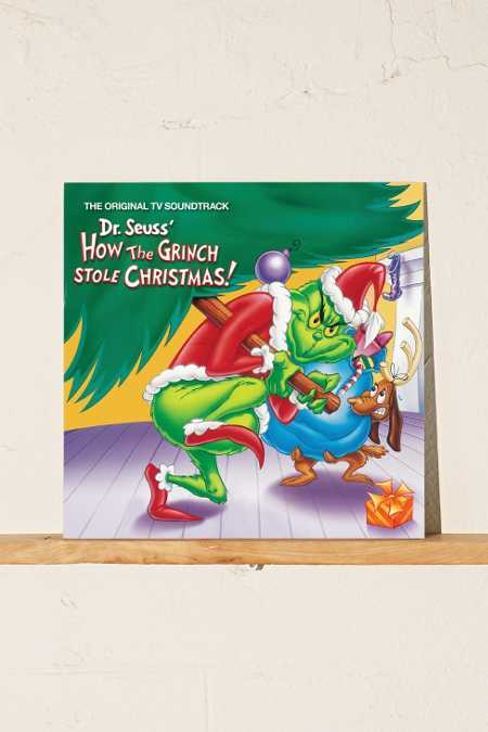 Various Artists - Dr. Suess's How The Grinch Stole Christmas Soundtrack LP