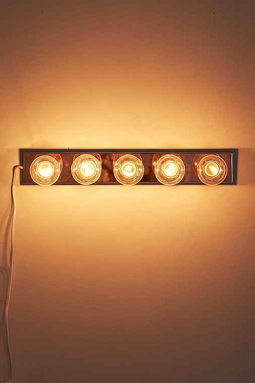 Hollywood Vanity Light,COPPER,ONE SIZE