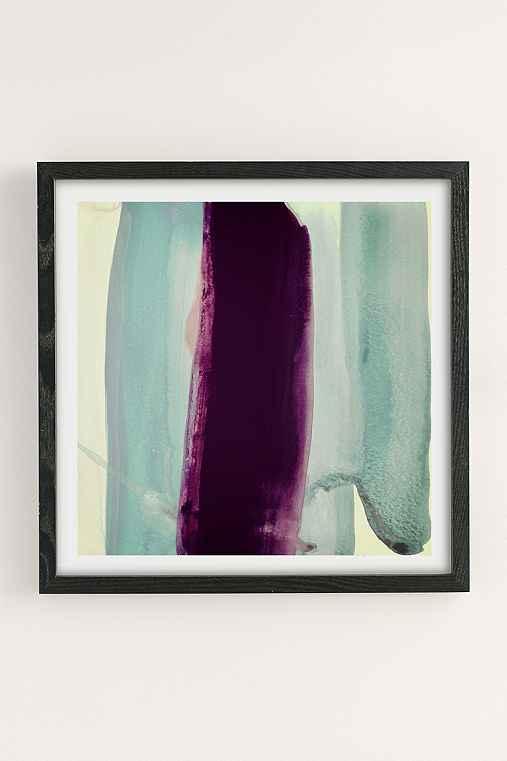 Nell Bernegger Behind Art Print,BLACK WOOD FRAME,30X30