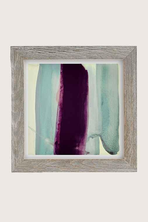 Nell Bernegger Behind Art Print,GREY BARNWOOD FRAME,20X20