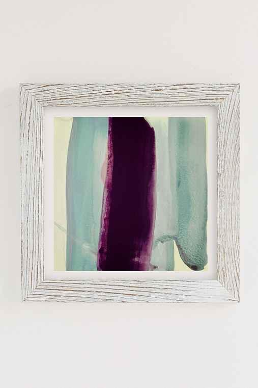 Nell Bernegger Behind Art Print,WHITE BARNWOOD FRAME,44X44