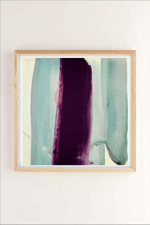 Nell Bernegger Behind Art Print,NATURAL WOOD FRAME,30X30