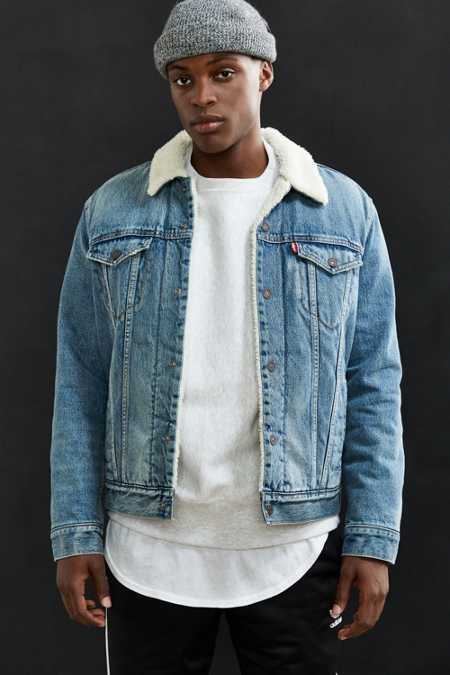 Levi's Denim Sherpa Jacket