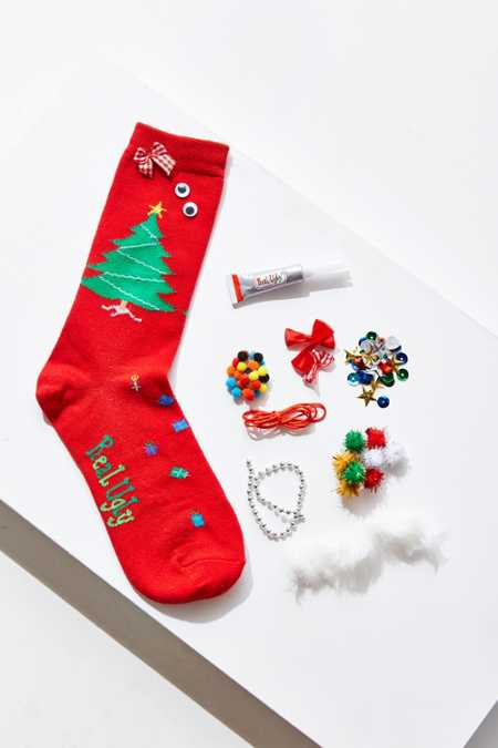 Real Ugly Socks Sweater Sock Do-It-Yourself Box Kit