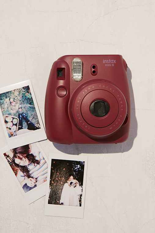Fujifilm X UO Custom Color Instax Mini 8 Instant Camera,DEEP PURPLE,ONE SIZE