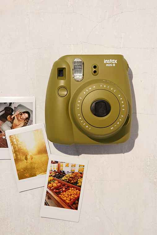 Fujifilm X UO Custom Color Instax Mini 8 Instant Camera,TURQUOISE,ONE SIZE