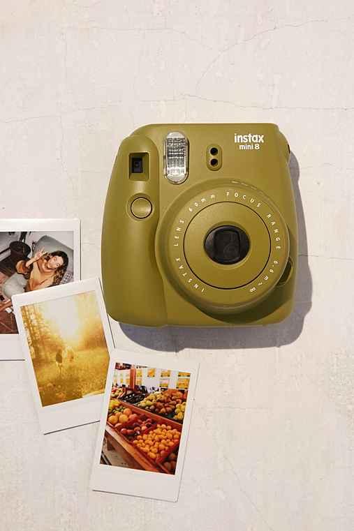 Fujifilm X UO Custom Color Instax Mini 8 Instant Camera,GREEN,ONE SIZE