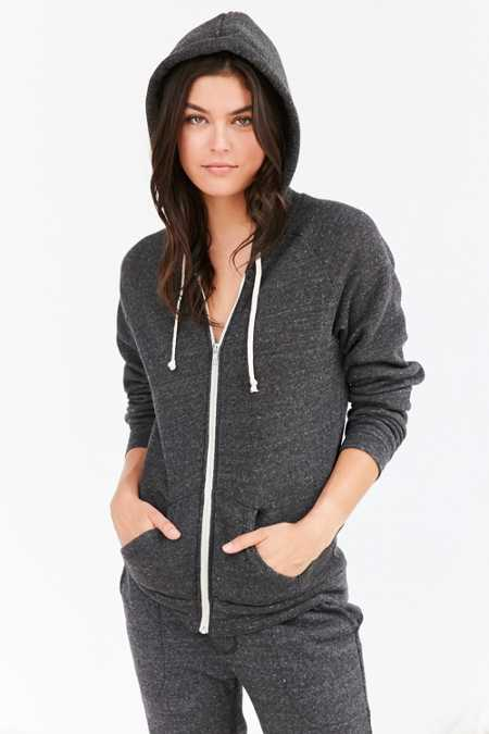 ALTERNATIVE Adrian Eco-Fleece Zip Hoodie Sweatshirt