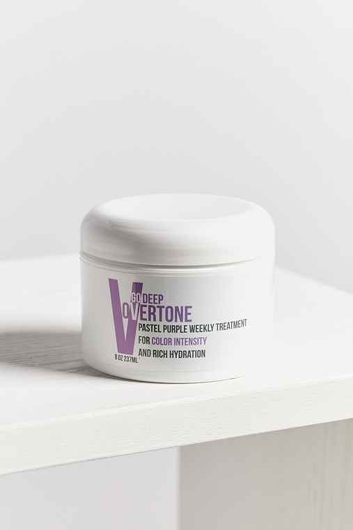 oVertone Go Deep Weekly Hair Treatment,PASTEL PURPLE,ONE SIZE