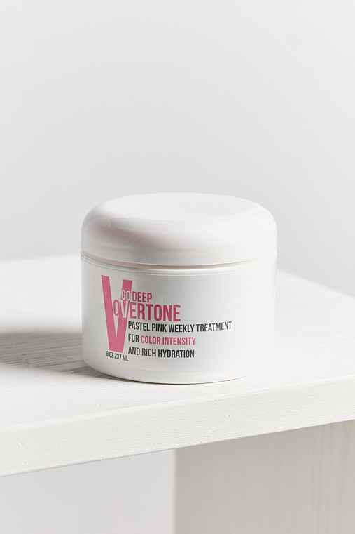 oVertone Go Deep Weekly Hair Treatment,PASTEL PINK,ONE SIZE